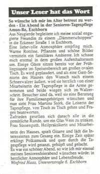 Schwalbacher Nachrichten vom 28. Februar 2003