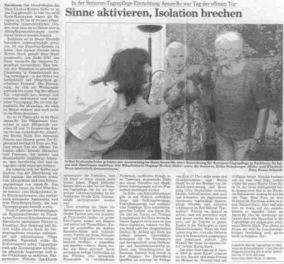 Eschborner Stadtspiegel vom 5. Juni 2003